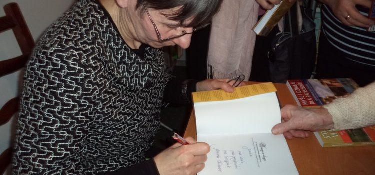 Spotkanie autorskie z Panią Jolantą Szwalbe