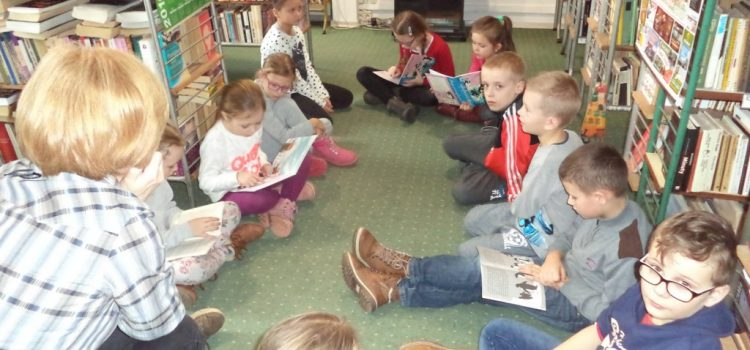 Lekcja biblioteczna – Czytajmy dzieciom