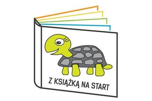 Logo projektu Z książką na start