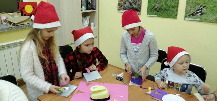 Spotkanie Mikołajkowe w Fili Bibliotecznej w Lipiance