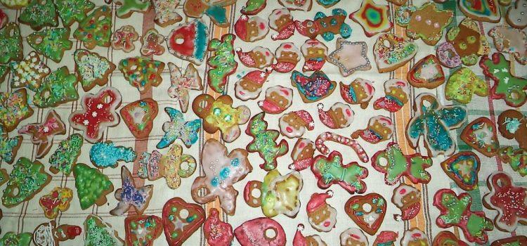 Świąteczne pierniczki w Filii Bibliotecznej w Żabinie