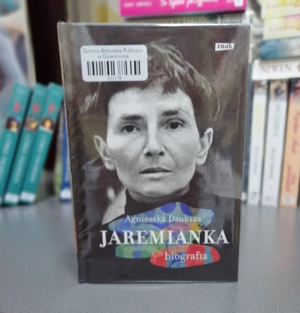 Książka Agnieszki Daukszy Jaremianka