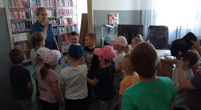 Wizyta Przedszkolaków z Przedszkola Samorządowego w Goworowie